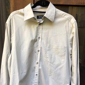 Hugo Boss Cotton dress shirt long sleeve